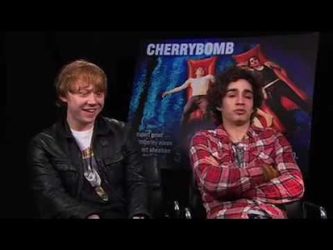 Rupert Grint and Robert Sheehan: Cherrybomb Press Junket Interview