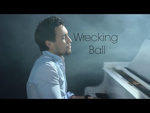 Miley Cyrus - Wrecking Ball (cover By chestersee) video