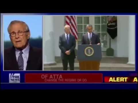 Donald Rumsfeld Calls Obama 'So-Called Commander-in-Chief'