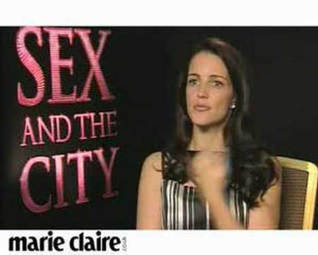 Marie Claire TV: Kristin Davis interview