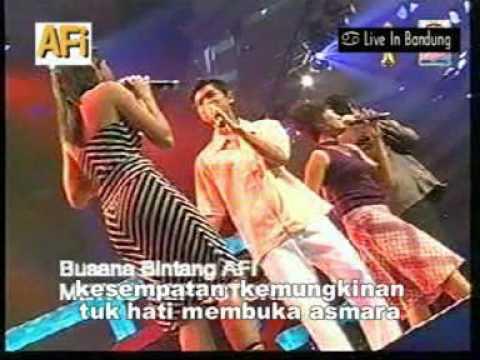 Konser Menuju Bintang AFI 1 Bandung - Kesempatan (Veri AFI, Smile AFI, Hera AFI, Yenny AFI)