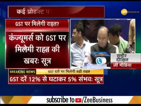 28th GST Council meeting in Delhi: GST rates may be reduced on 32 items