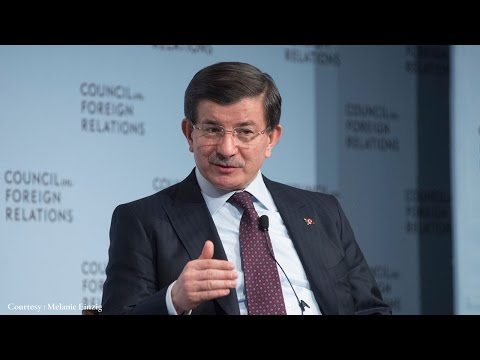 A Conversation With Ahmet Davutoglu