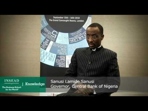 Sanusi Lamido Sanusi, Governor for the Central Bank of Nigeria