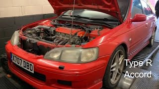 Honda Accord  TypeR H22 What Power does it make?