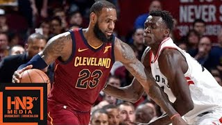 Cleveland Cavaliers vs Toronto Raptors Full Game Highlights / Game 1 / 2018 NBA Playoffs