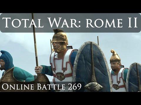 Total War Rome 2 Online Battle Video 269 Pontus vs Getae
