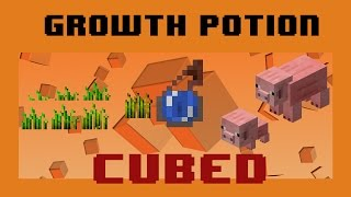 Growth Potion - Instantly grow crops and mobs!