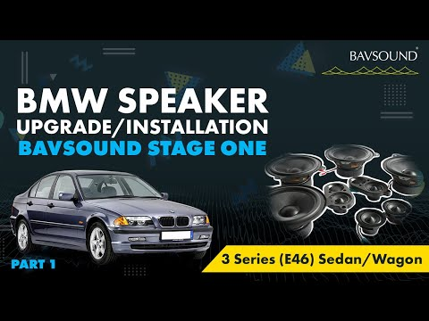1/3: BMW 3 Series (E46) Sed/Wag Speaker Upgrade Install 1/3.mov