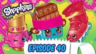 """Shopkins Cartoon - Episode 40 """"The Shopville Games"""""""