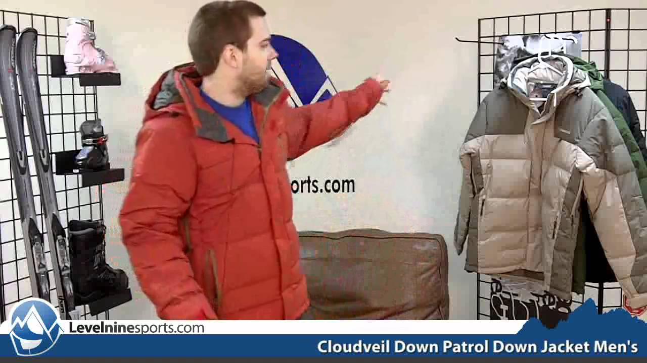 Cloudveil Down Jacket Cloudveil Down Patrol Down