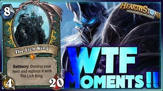 Hearthstone - WITCHWOOD WTF Moments - Daily Funny Rng Moments