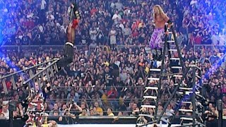 Edge spears Jeff Hardy in mid-air: WrestleMania X-Seven