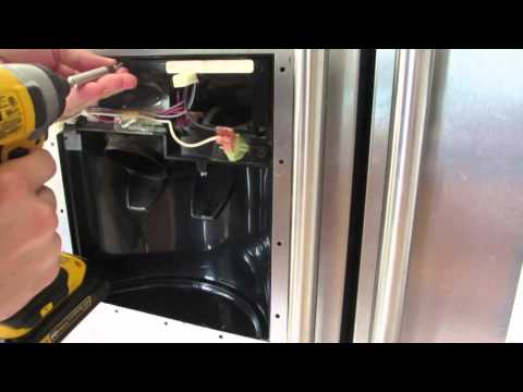 Leak In The Water Dispenser Of A Kitchenaid Refrigerator