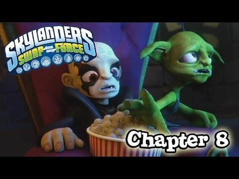 Let's Play Skylanders SWAP FORCE - Chapter 8 TWISTY TUNNELS (Hard Mode)
