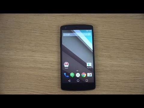 Google Nexus 5 Android L - Review (4K)