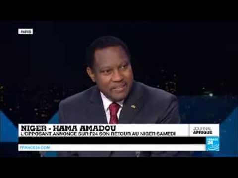 LUMANA - RETOUR AU NIGER PRÉSIDENT HAMA AMADOU