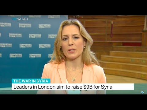 World leaders meet to support Syria, Hannah Hoexter reports from London