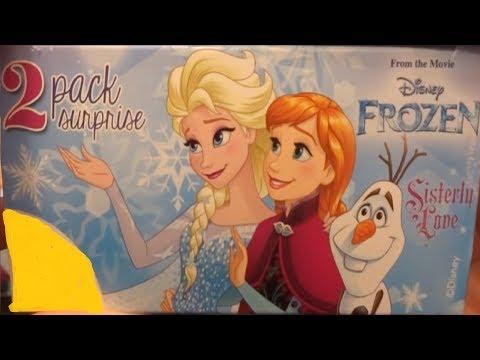 Disney Frozen 10 Anna and Elsa Princess of Arendelle Kinder Surprise Eggs