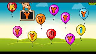 Balloon Pop Kids Learning Game Free for babies | Balloons Learn Game for Kids & Toddlers #2
