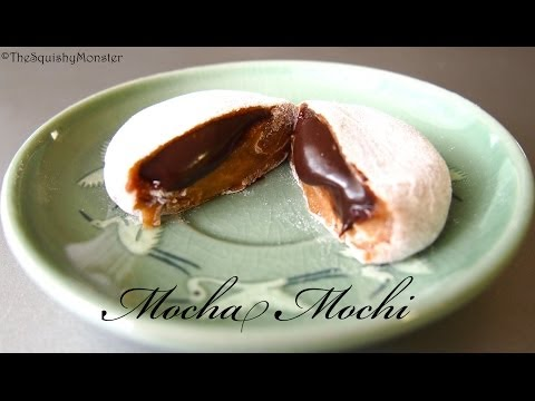 How to Make Easy Mochi Rice Cakes {Mocha Mochi Recipe}