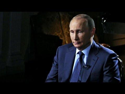 Charlie Rose interviews Vladimir Putin