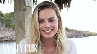 Margot Robbie Reads Inspirational Quotes | Vanity Fair
