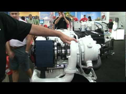 Cummins Diesel's QSB 6.7 Liter Turbo Marine Diesel Engine