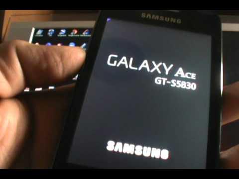 Factory Reset - Galaxy Ace S5830/B/L (EspañolMX)