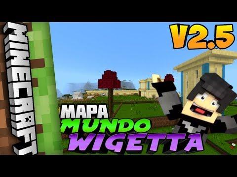 Mapa MUNDO WIGETTA V2.5 (Igual a la serie) MINECRAFT 1.2 / Minecraft Pe 1.2