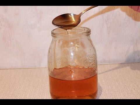 Как сделать искусственный мёд в домашних условиях