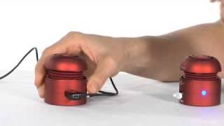 Magellan's Tweakers Portable Mini Speakers EL115