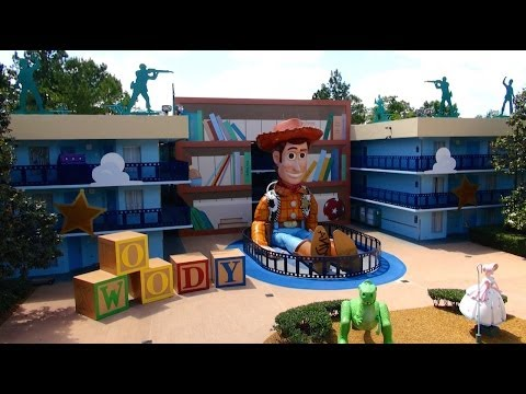 Disneys All Star Movies Resort 2014 Tour and Overview - Walt...