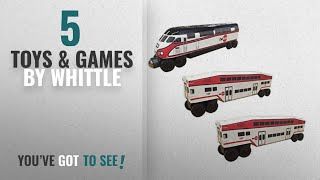 Top 10 Whittle Toys & Games [2018]: NEW! 2017 CalTrain MP-36 3 pc. SET by Whittle Shortline Railroad