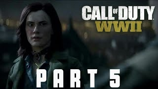 CALL OF DUTY WW2 Walkthrough Gameplay Part 5(Liberation) | COD World War 2 |By APEXOR STREAMING