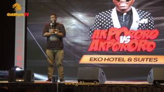 COMEDIAN, SEYI LAW GIVES ADVICE FOR FAMILIES AT AKPORORO VS AKPORORO