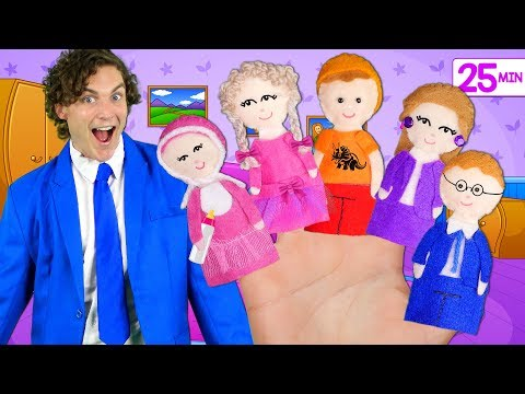Finger Family Song - Mega Collection part 3! Extended Family, Colors, Superheroes, Halloween & more