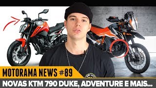 NOVAS KTM 790 DUKE E ADVENTURE E SCOOTER BMW DE 400cc