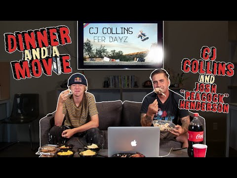 CJ Collins Breaks Down His New Video Part | Dinner And A Movie