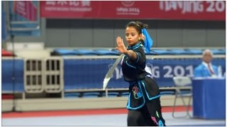 NANJING 2014 Wushu Tournament - Women Daoshu - EGY  Hager Mohamed Farahat 9.31