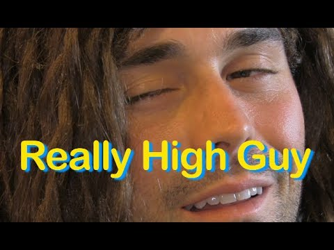 REALLY HIGH GUY TWEETS
