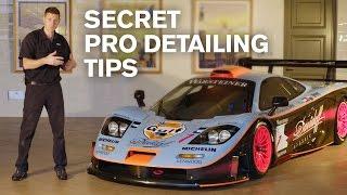 SECRET Pro-Detailing Tips: McLaren F1 GTR LT (138h detail)