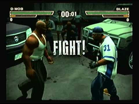 Def Jam Fight For Ny - D-mob Vs Blaze (hard) video