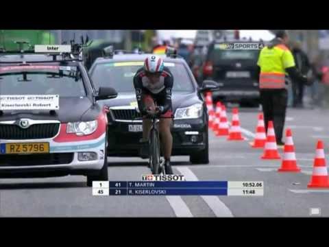 Tour de romandie - time trial - chris froome  28/04/13