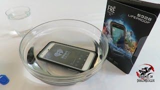 Lifeproof FRĒ case and Google Pixel XL, underwater testing
