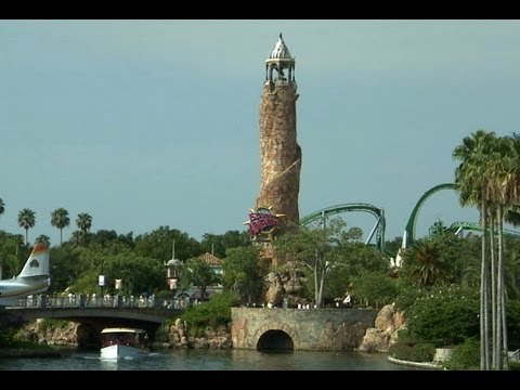 ISLANDS OF ADVENTURE (COMPLETE WALK-THROUGH) AT UNIVERSAL ORLANDO FLORIDA