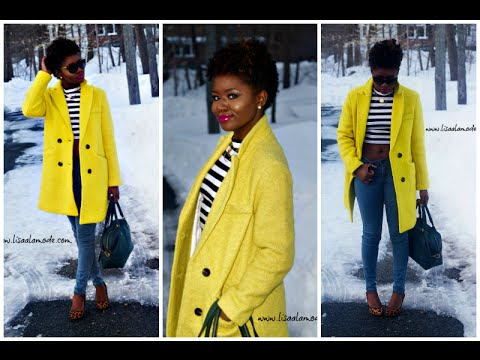 What to Wear With a Yellow Coat: Outfit of the Day