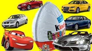 Disney Pixar Cars Kinder Surprise kinder sorpresa Huevo Sorpresa Cars  킨더 서프라이즈, キンダーサプライズ, 健達出奇蛋