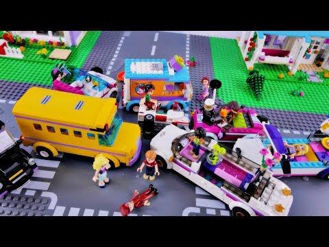 Wielki Wypadek W Heartlake! Bajka Po Polsku Z Klockami Lego Friends Odc.78
