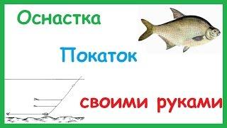 Покаток своими руками видео для зимней рыбалки